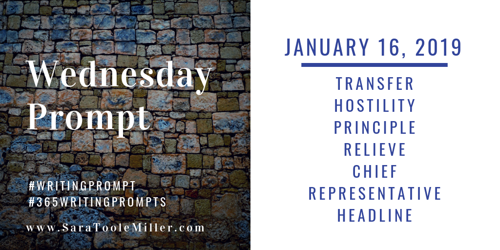 january 16 writing prompt