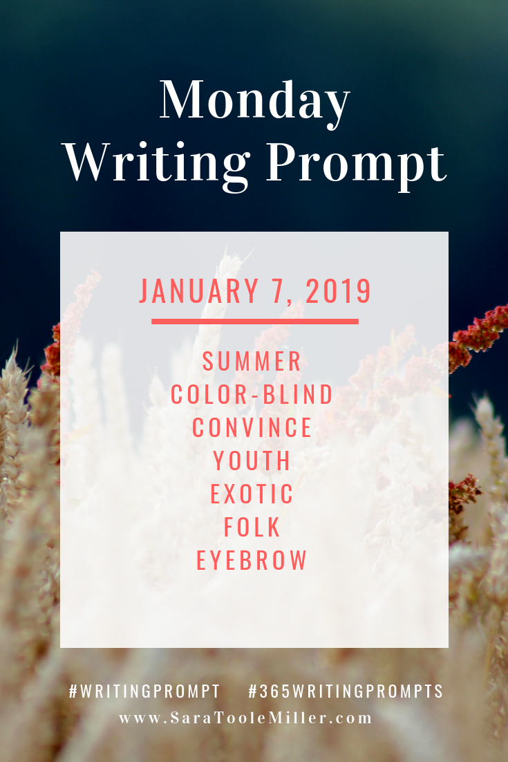 january 7 writing prompt 365